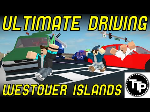 Ultimate Driving; Westover Islands - Part 2 - Fire and Rescue - ROBLOX