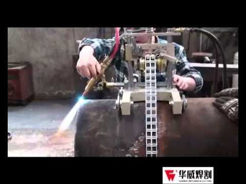 Big Manual Pipe gas Cutter flame cutting machine CG2-11S By HUAWEI - YouTube & Big Manual Pipe gas Cutter flame cutting machine CG2-11S By HUAWEI ...