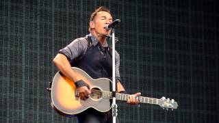 Royals - Bruce Springsteen - Mt Smart Stadium, Auckland 2-3-2014