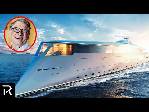 Inside Bill Gates Hydrogen Powered Mega Yacht