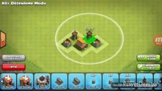 Clash Of Clans Köy Binası-4 Ganimet Düzeni (ETKILI)