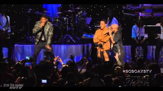 Ludacris, Usher & Lil Jon at the So So D...