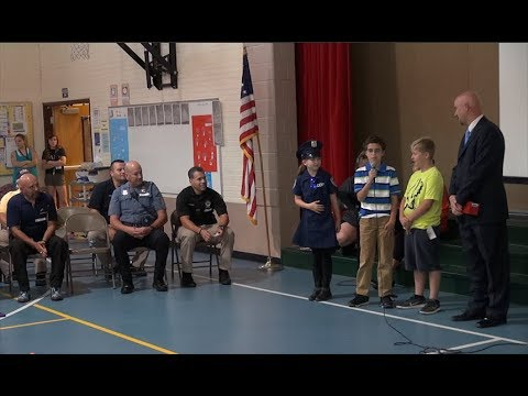 Falcon Elementary School of Technology Recognizes First Responders