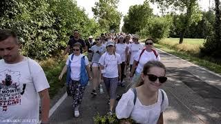 125. Bełchatowska Pielgrzymka Piesza | Grupa biała w drodze do Lubojni