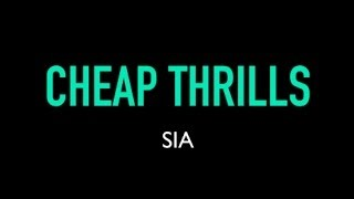 Sia Cheap Thirills (Karaoke Version) by SingKaraoke