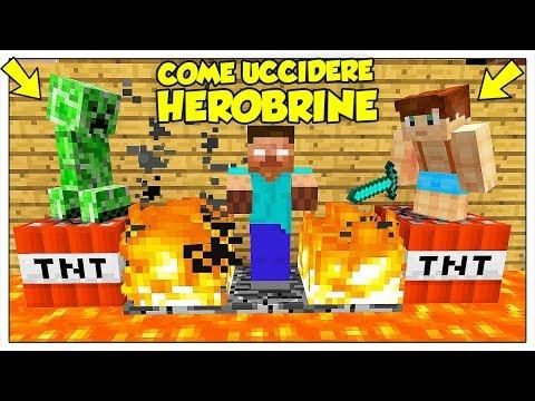 50 MODI PER UCCIDERE HEROBRINE! - Minecraft ITA