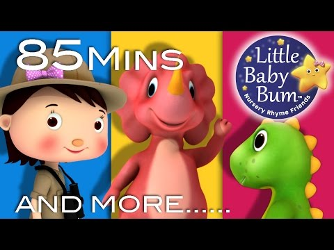 Little Baby Bum | Dinosaur Song | Nursery Rhymes for Babies | Songs for Kids