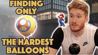 Finding Only The Hardest Balloons in Luigi's Balloon World! - Super Mario Odyssey