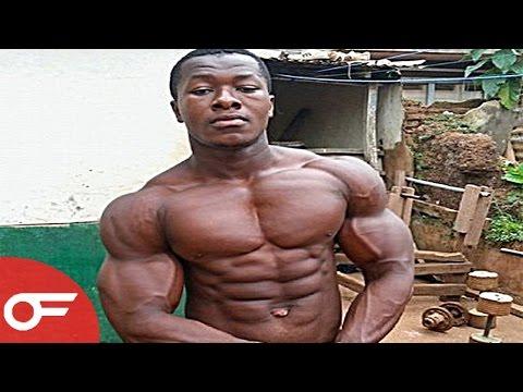 AFRICAN BODYBUILDER   Kulbila Samuel