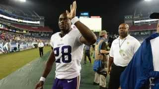 Minnesota Vikings' Adrian Peterson indicted on child abuse charges; deactivated for game Sunday