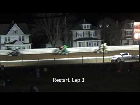 AJ Flick 410 Sprint Port Royal Speedway April 1, 2017