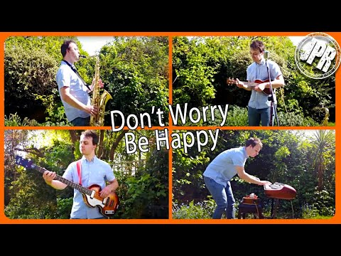 Don't Worry, Be Happy - EPIC Live Loop Cover with Multiple Instruments!
