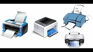 Types of printer in tamil