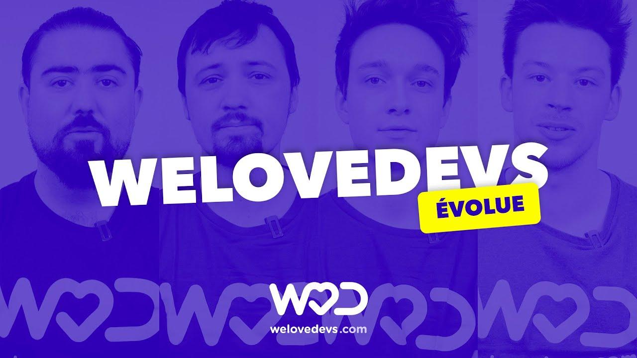 WeLoveDevs.com fait peau neuve ! - #MadeByDeveloper 🔥🙌