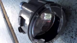 How to replace fog light Nissan Rogue