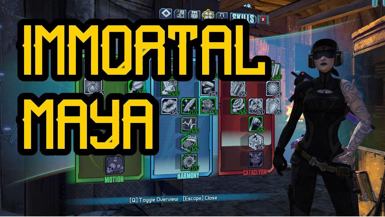 Immortal Maya Recompense OP0 Build   Borderlands 2