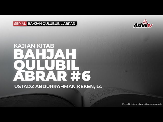🔴 [LIVE] Ketentraman Hati Orang-Orang Saleh - Ustadz Abdurrahman Keken, Lc حفظه الله