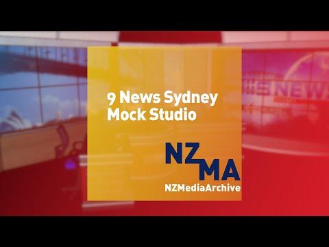 Nine News Sydney Mock Studio