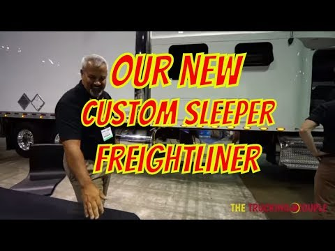 NEW TRUCK, 2018 FREIGHTLINER CASCADIA, BOLT CUSTOM SLEEPER - EXPEDITE EXPO -  VLOG 83