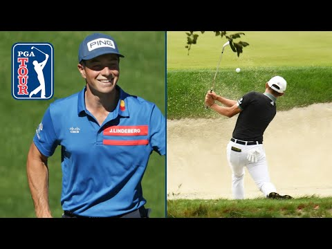 The best greenside bunker hole-outs from the 2020-21 season
