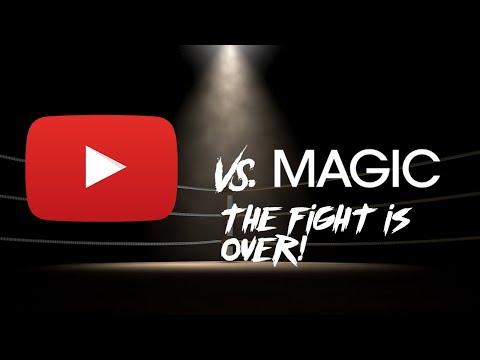 THE FIGHT IS OVER!!! TEACHING MAGIC TO THE PUBLIC IS OK!!!! thumbnail