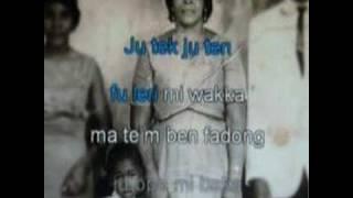 "Karaoke video ""Mama"" van Brian Bijlhout"