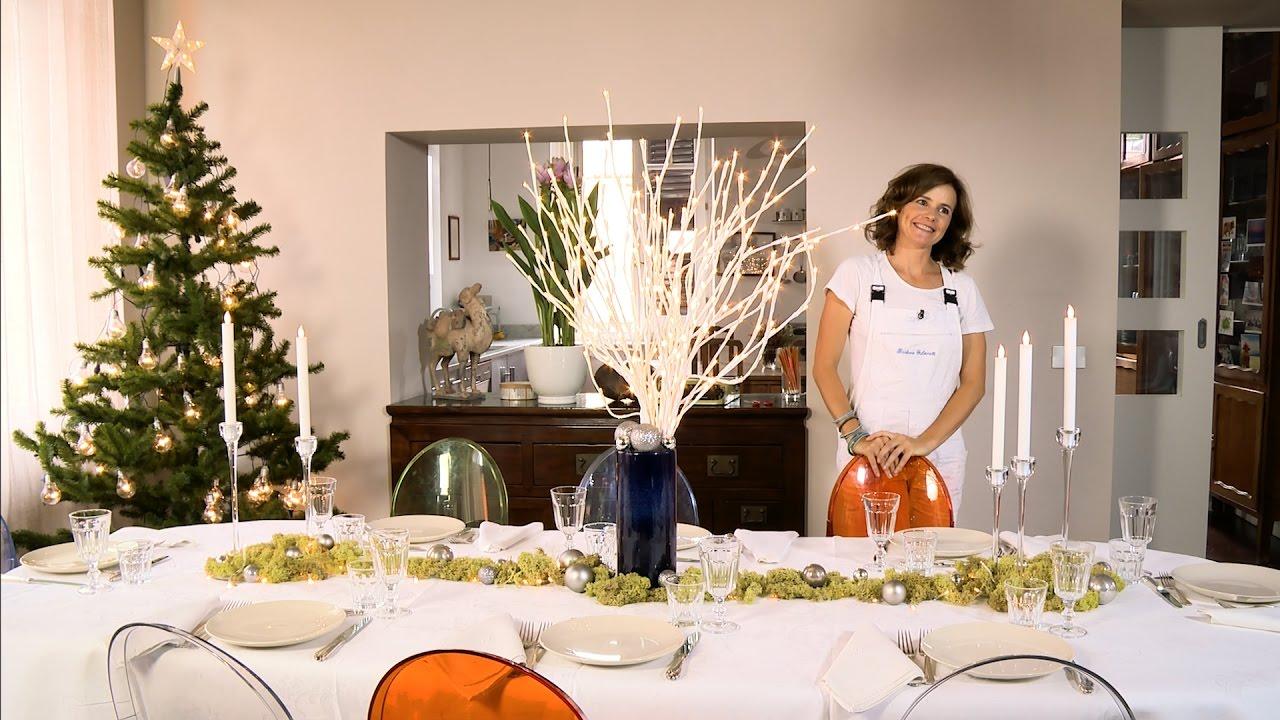 Come apparecchiare e decorare la tavola di natale fai da for Decorazioni da tavolo natalizie