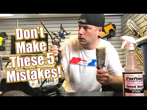 Don't Make These 5 RC Maintenance Mistakes
