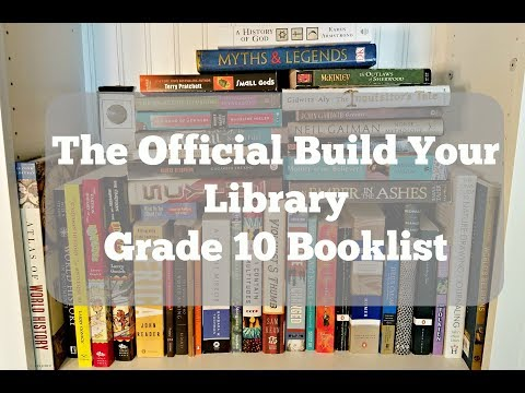 The Official Build Your Library Grade 10 Booklist!