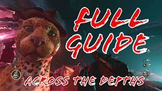 *EASY* FULL EASTEREGG GUIDE: ACROSS THE DEPTHS (CALL OF DUTY WW2 ZOMBIES)