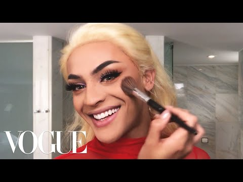 Brazilian Pop Star Pabllo Vittar's Spectacular 15-Minute Drag Transformation | Beauty Secrets