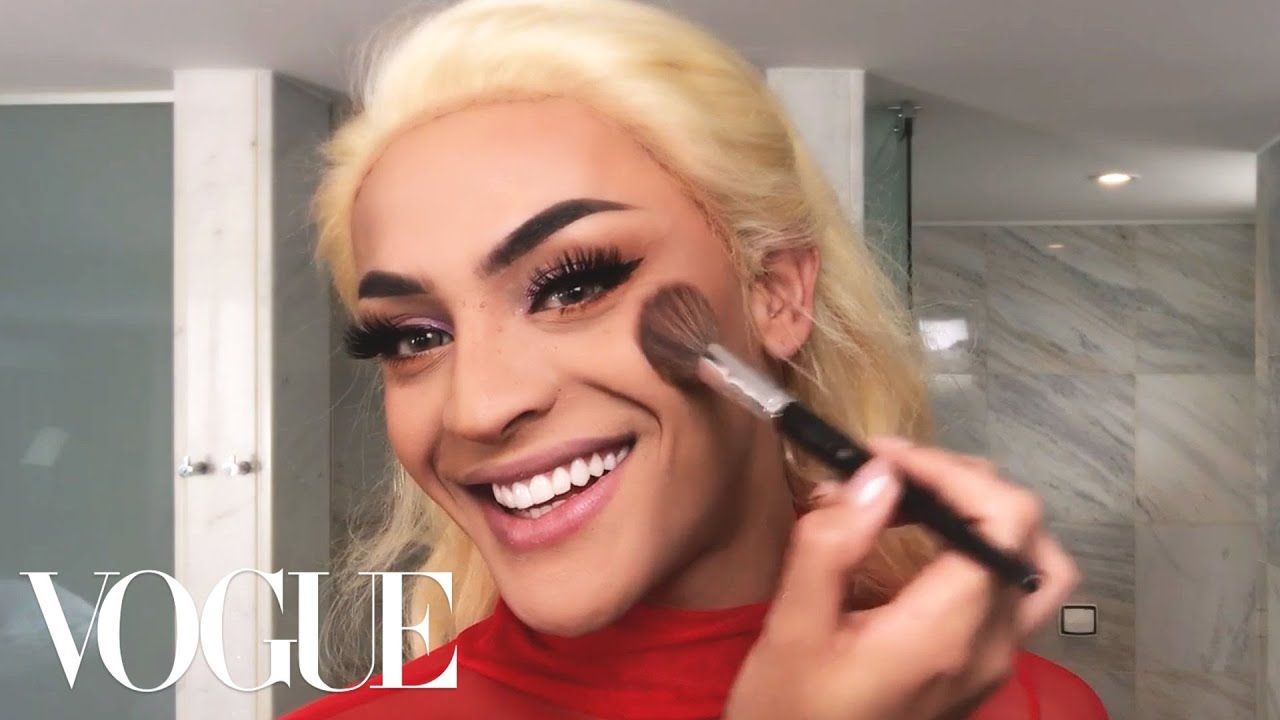 Brazilian Pop Star Pabllo Vittar's Spectacular 15-Minute Drag Transformation | Beauty Secrets