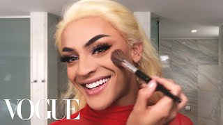 Brazilian Pop Star Pabllo Vittar&#39s Spectacular 15-Minute Drag Transformation Beauty Se ...