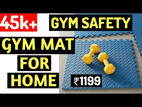 Unboxing - Amazon Basics Gym Mats | Fitness Hour | Vinay Kumar