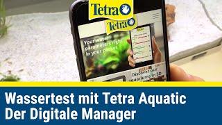 Tetra Aquatics App   Wassertest How-to