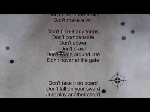 U2 NUMB  lyrics HD