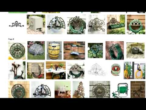 Best Coil Garden Hose Holder Reels From Decorative Wall