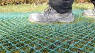 Rasenschutznetz secu M - Rasenstabilisierung, Wühlschutz und Zaun