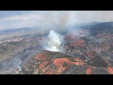 Utah wildfire swells to nearly 50,000 acres