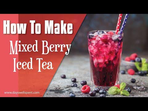 How to Make Mixed Berry Iced Tea