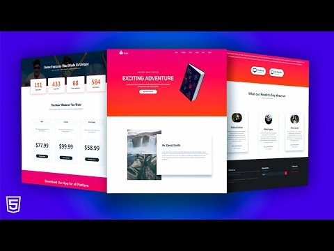 How To Make Complete Responsive Website Using Bootstrap/HTML/CSS