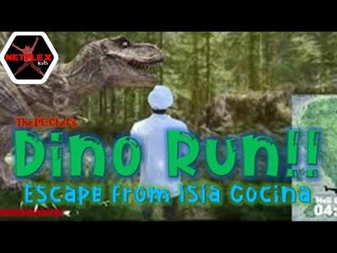 PE Chef: DINO RUN!! Escape from Isla Cocina [Virtual Run]