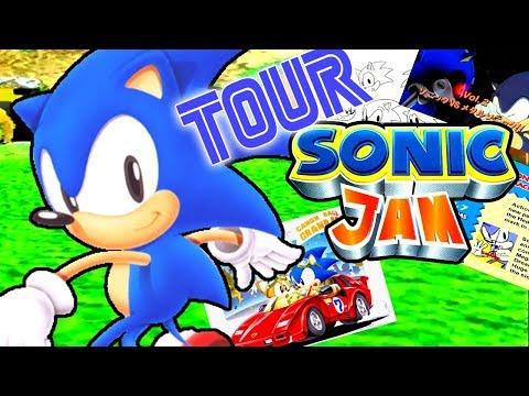 SONIC JAM !! UN TOUR POR SONIC WORLD Y SUS EXTRAS !!  SEGA SATURN