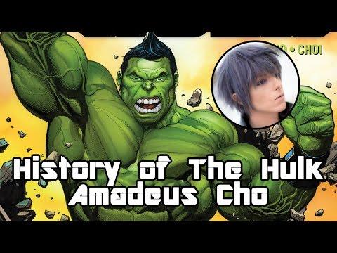 History of Amadeus Cho - Totally Awesome Hulk