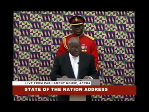 Ghana President State of the Nation Address 2017