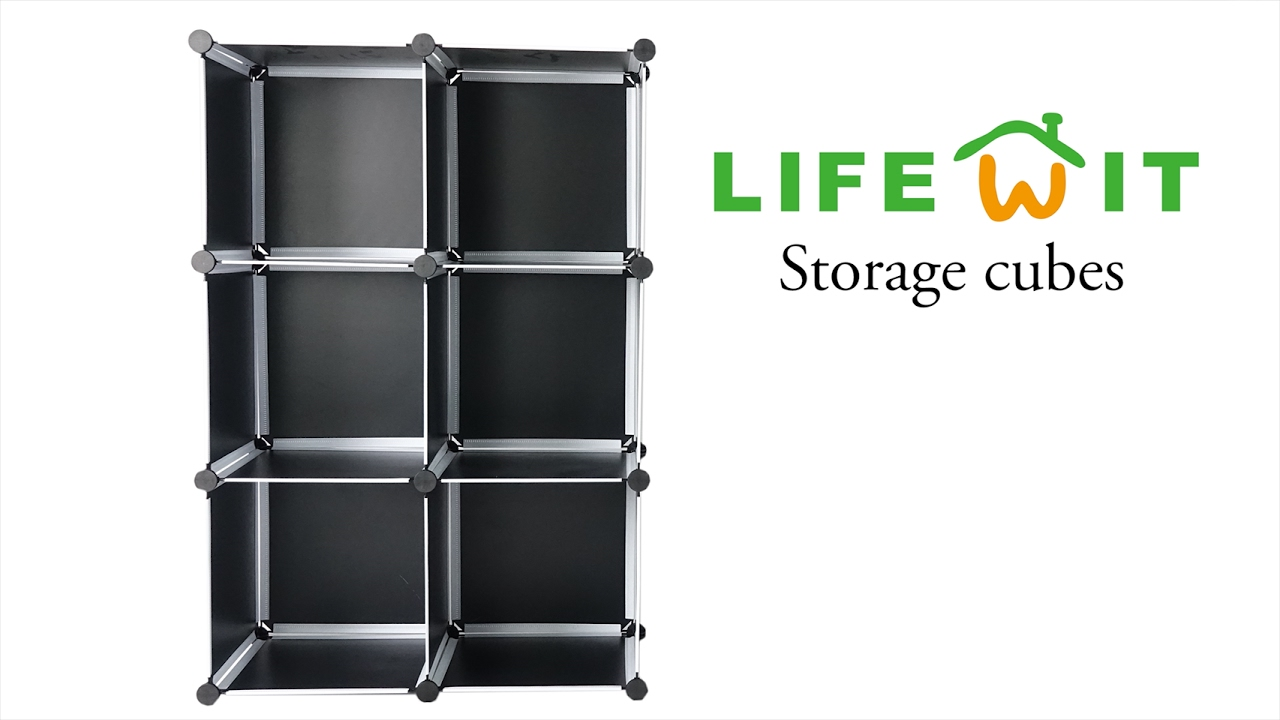 How To Set Up Lifewit Storage Cubes - YouTube