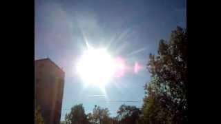 pt. 2 chemtrail berlin 16.10.2012 13:10 mollstr. friedrichshain volksverrat contrails himmel