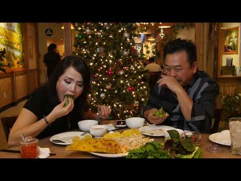 MC VIỆT THẢO- CBL (616)- Đi ăn BÁNH XÈO ở Nhà Hàng HƯƠNG ĐỒNG CỎ NỘI- DEC 10, 2017