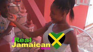 The Real Jamaican Girls Babysit