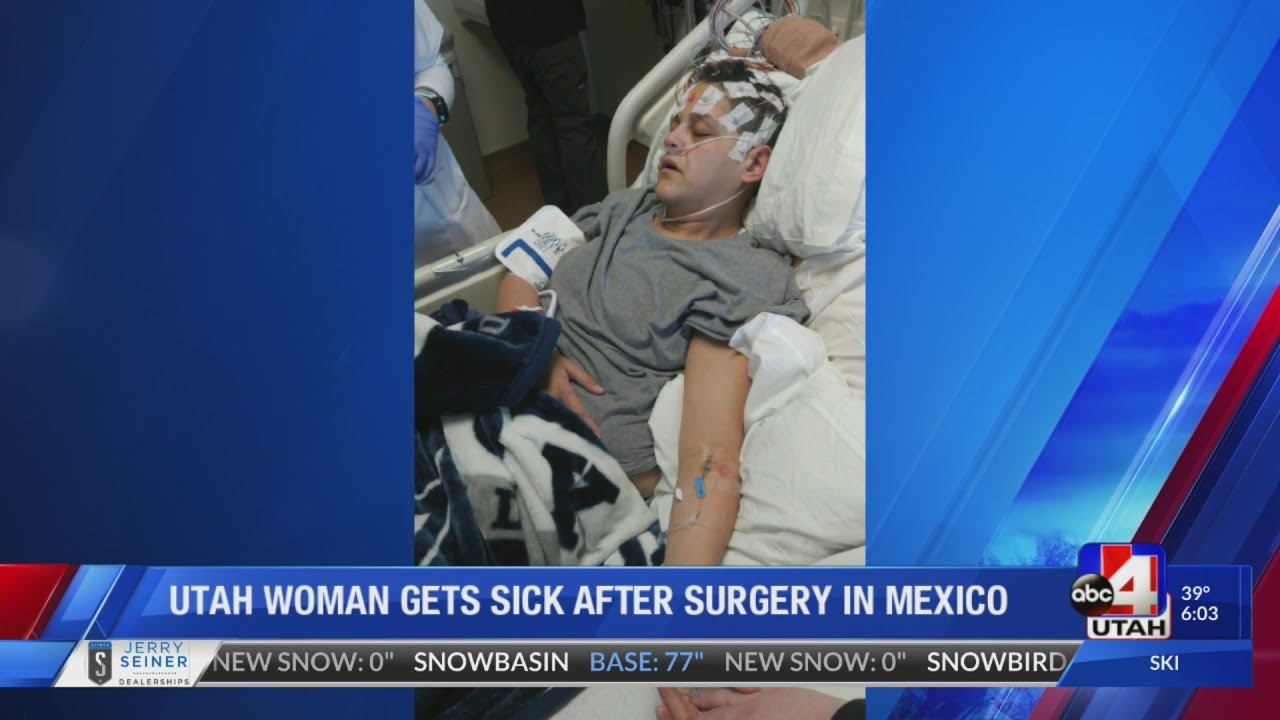 Mother barely survives botched weight-loss surgery in Mexico
